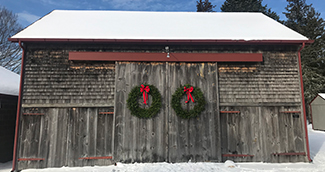Barn-with-wreaths-Annual-Appeal